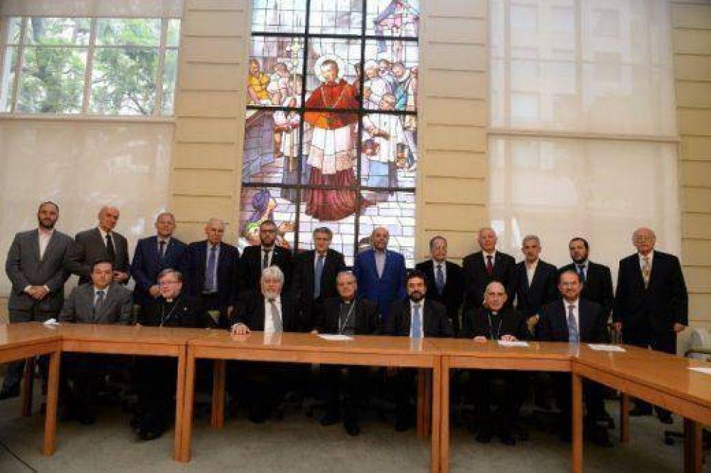 Autoridades de la comunidad judía y de la Conferencia Episcopal mantuvieron un encuentro