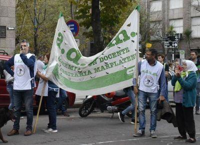 Trabajadores de distintos entes del Estado marcharon por Mar del Plata