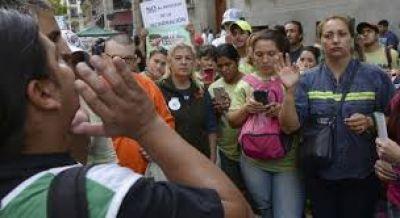 Cartoneros protestaron en la Legislatura y prometen resistir la termovalorización