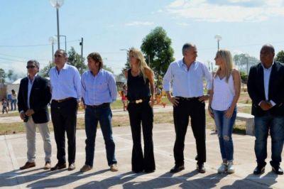 Inauguraron polideportivo en Santa Clara