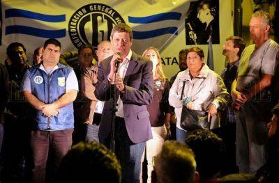 """CGT: """"La unidad es la respuesta a los problemas que sufre la ciudad"""""""