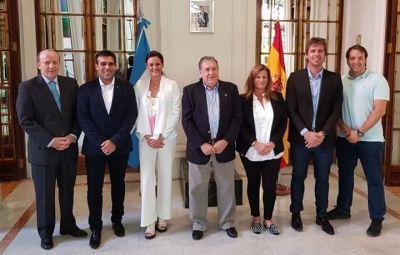 Acuerdos con la Embajada Argentina en España
