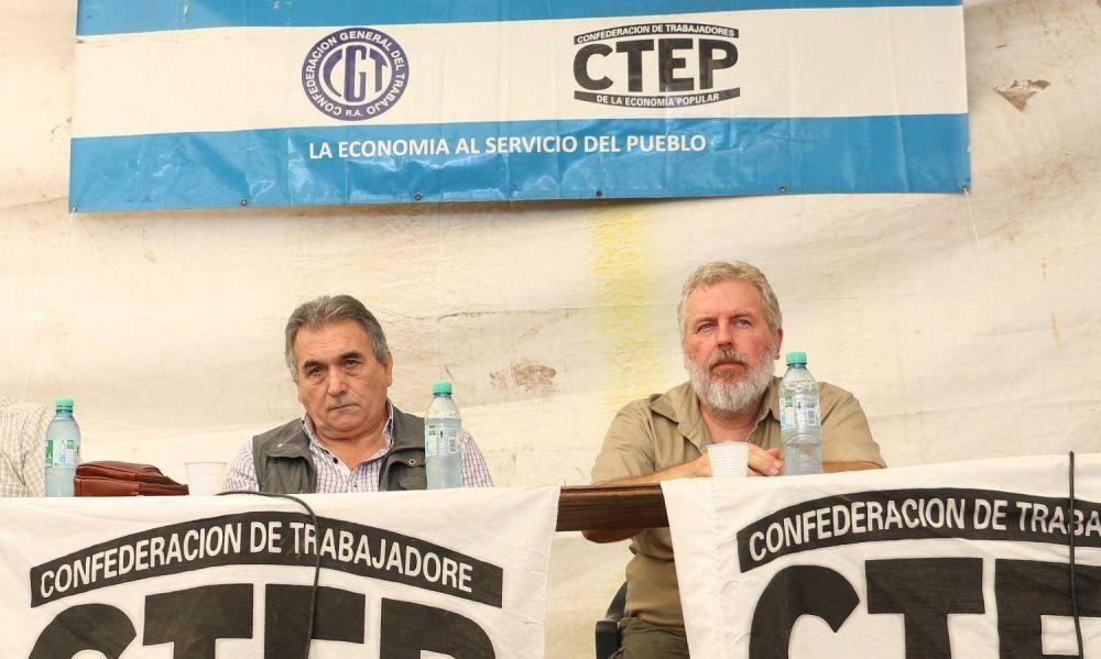 Contrapuntos en la CGT por la posible incorporación de movimientos sociales