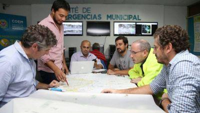 La Municipalidad afirma que el sistema hidráulico funcionó de manera correcta