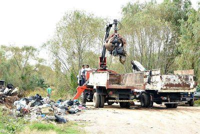 Berisso: cerrarán el paso de vehículos al Terraplén Costero para evitar la formación de basurales