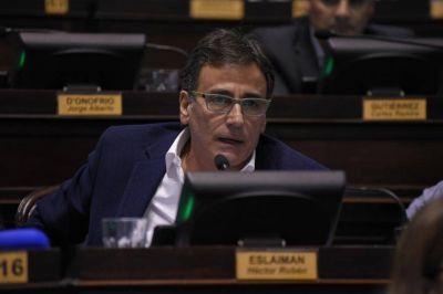 """Rubén Eslaiman: """"Estoy convencido que Massa va a ser Presidente"""""""