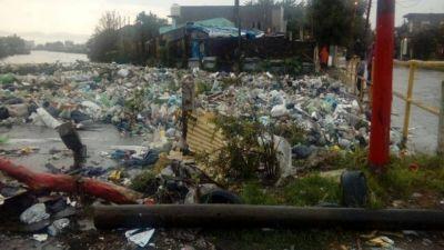 Quilmes, entre la basura y el agua