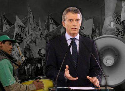 El Gobierno relanza su pata sindical con un acto de apoyo a Macri, tras la embestida de un Moyano