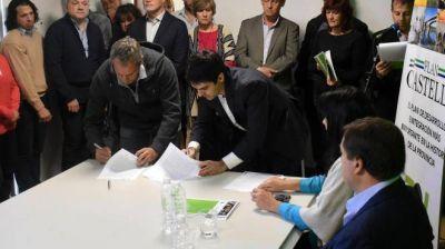 En Cipolletti, el crédito del Plan Castello será para la obra pluvial