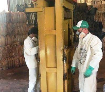 Chacras limpias: tabacaleros retiraron más de 26 toneladas de residuos peligrosos