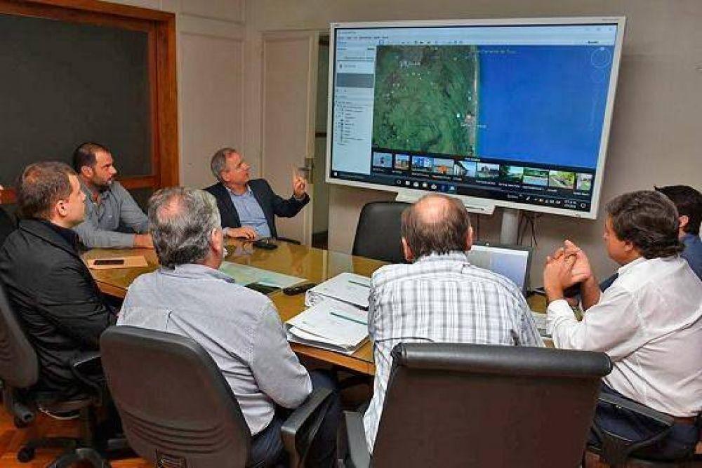 De Jesus mantuvo una reunión con el subsecretario de Infraestructura Hidráulica de Provincia