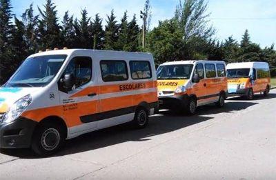 El próximo lunes 7-5 comenzará el servicio de transporte escolar en La Dulce