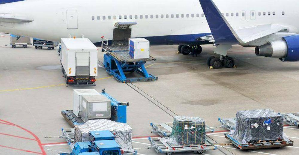 El transporte aéreo de carga creció 15,5%