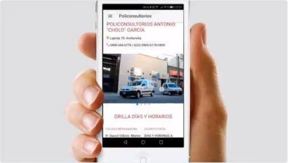 Los municipales de Avellaneda ya pueden llevar la Obra Social en el ceular