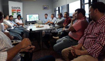 La Provincia profundiza el plan de obras hídricas en General López