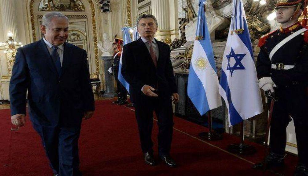 Macri planea viajar a Israel en la segunda mitad del año