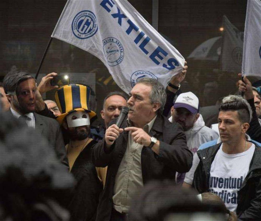 Un reclamo sindical que apuntó a Aranguren