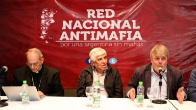 Hugo Moyano, un obispo vaticano y las mafias