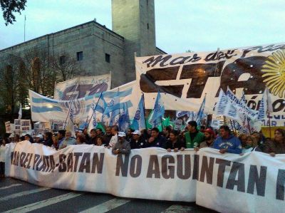 La CGT Mar del Plata y un firme reclamo