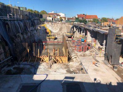 Agua: Progresa la construcción del futuro  Centro de Abastecimiento Tucumán