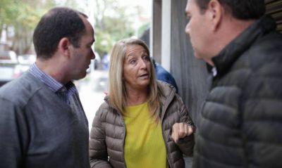 Concejal y candidato macrista buscan resolver los problemas del PAMI en el distrito