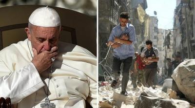 El cardenal Sandri afirmó que si hubiera condiciones, el Papa iría de inmediato a Siria