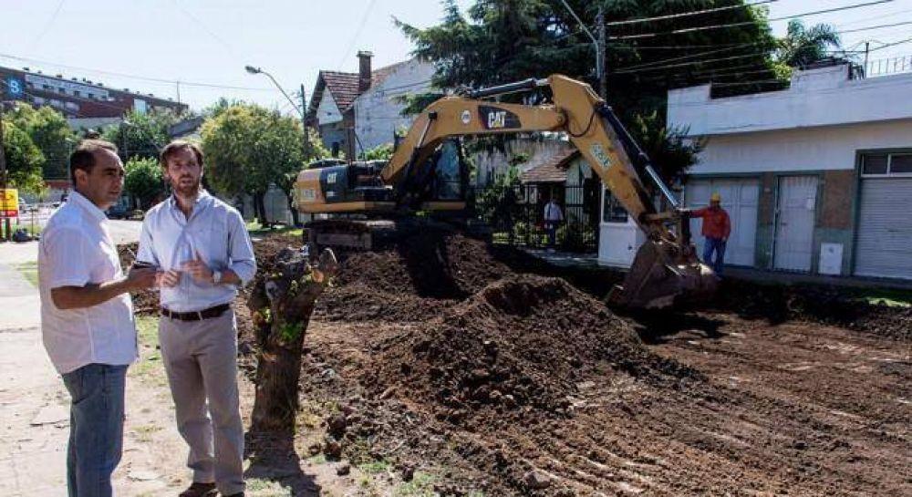La oposición denuncia que Tagliaferro subejecutó el presupuesto para obras hidráulicas