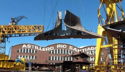 Astillero Río Santiago: máxima alerta por posible despidos