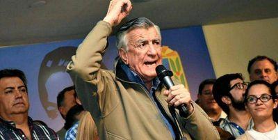 """José Luis Gioja visitará el PJ La Plata: """"Es el único presidente del Partido"""""""