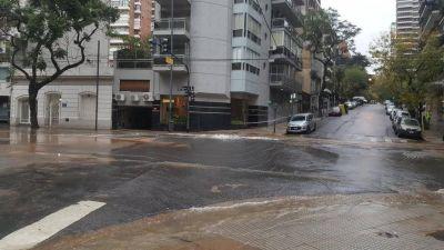 Belgrano: reparan un caño de agua y Luis María Campos estará cortada toda la semana