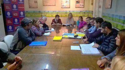 Concejales analizan el Reglamento de Edificación