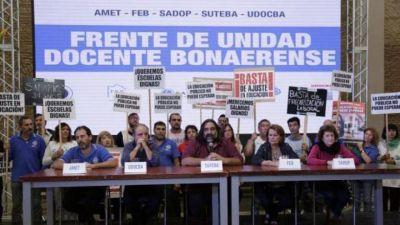 """Los docentes vuelven a la carga con la paritaria: """"Queremos que la gobernadora nos llame"""""""