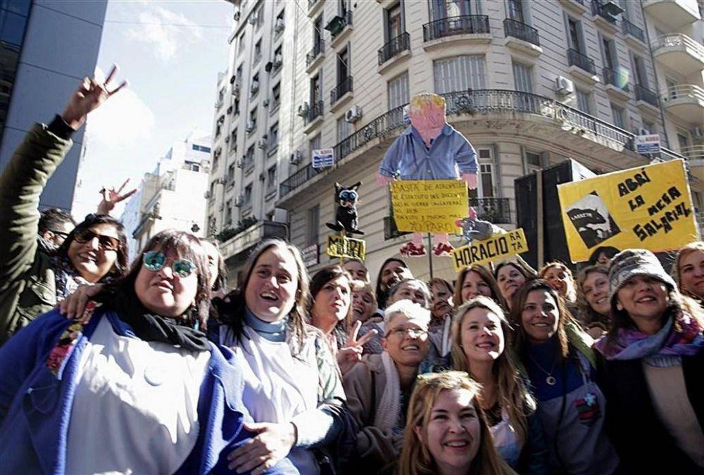 Rechazo salarial del 15 % por docentes porteños