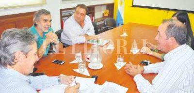 La provincia refuerza la protección contra inundaciones en Recreo
