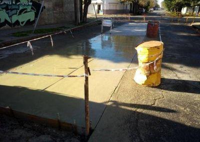 Trabajos de pavimentación en la calle 49 resolverán un problema histórico