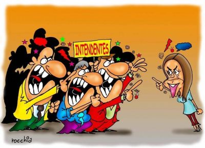 Crece la tensión entre Vidal y los intendentes por los impuestos y la obra pública