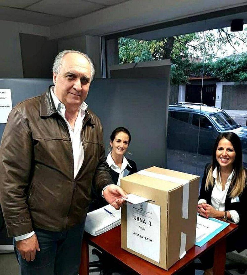 Eligieron a Pedro Borghini para otro período al frente de ATSA La Plata
