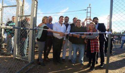 Weretilneck inauguró una planta elevadora de líquidos cloacales en Río Colorado