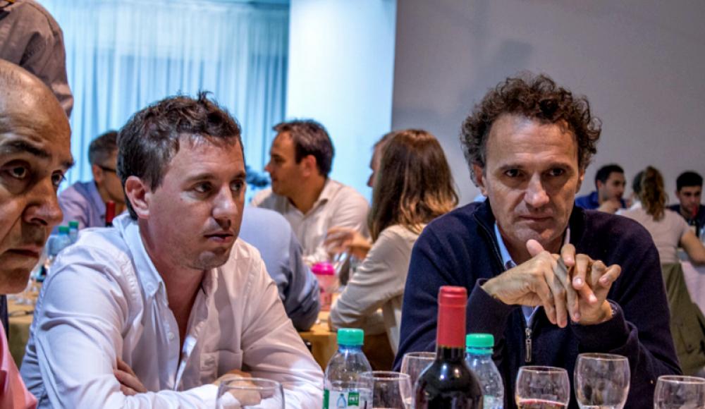 Alberto Fernández y Katopodis encabezaron una cena junto al dirigente platense Federico Martelli