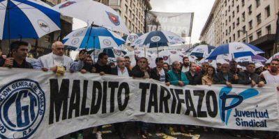 La CGT, gremios del transporte y la Juventud Sindical convocan a una marcha contra el tarifazo y el acuerdo con el FMI