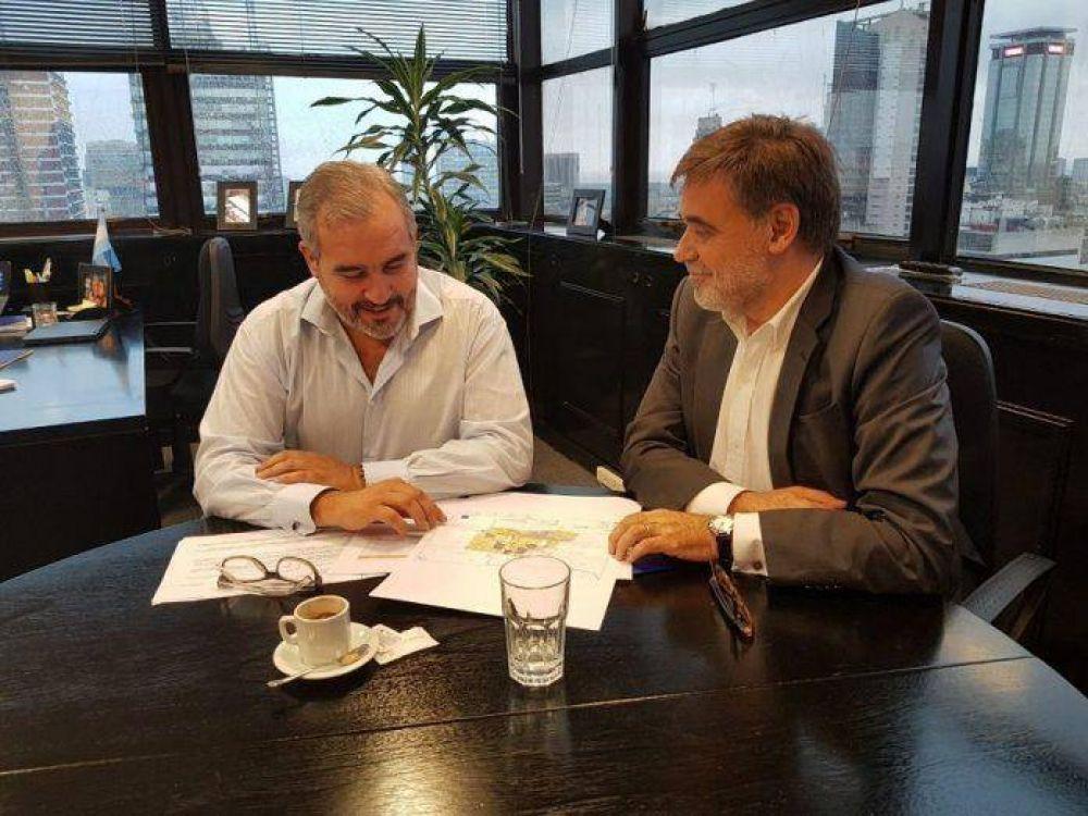 Nestor Marcote se reunió con el director de AySA