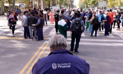 Municipales de Pinamar acuerdan una suba salarial del 14% en dos cuotas