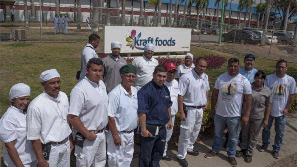 Cortes en Panamericana: trabajadores de Kraft protestan por el despido de un empleado