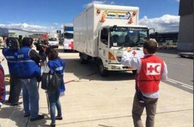 Cruz del Sur firmó un acuerdo con la Cruz Roja