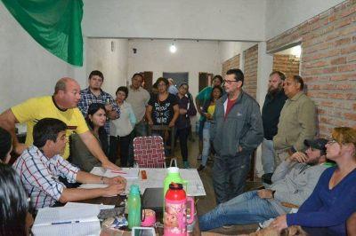 Alistan el inicio de obras hídricas en distintas partes del barrio Independencia