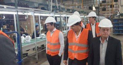 Te liquida: 20 despidos en una fábrica de electrodomésticos que visitó el ministro de Producción