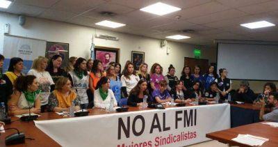 """""""El gobierno no busca equidad de género, busca avanzar sobre los sindicatos"""""""