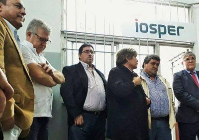 Iosper inauguró una delegación en el Hospital