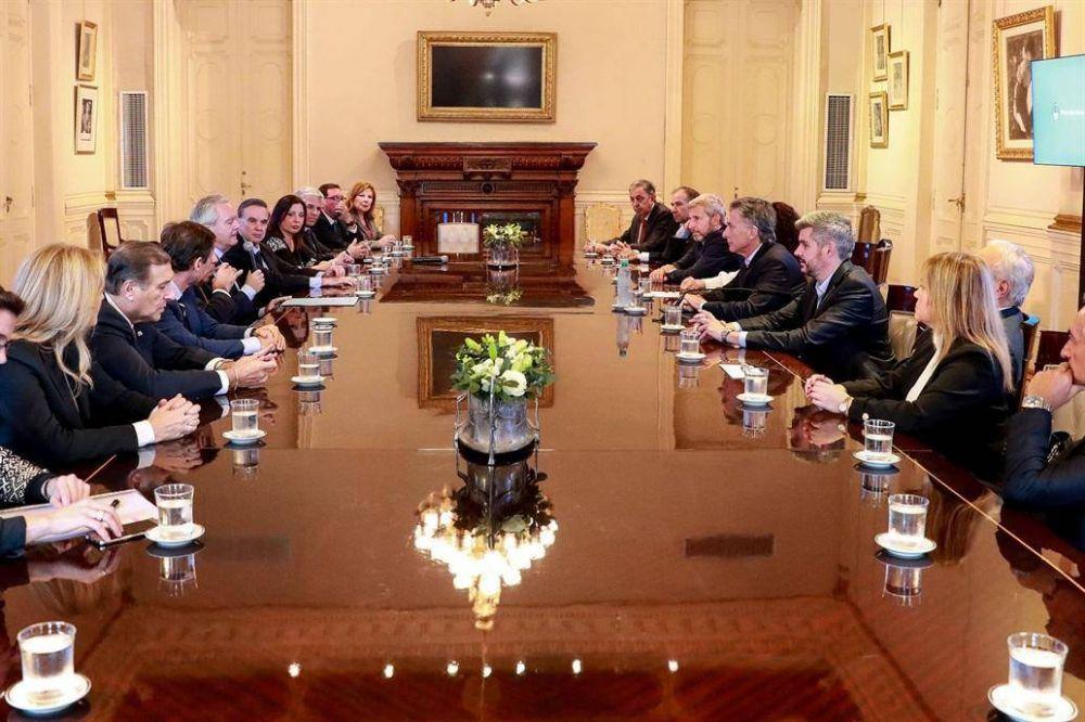 Macri sumó a la UCR y a la Coalición Cívica a la mesa de decisiones