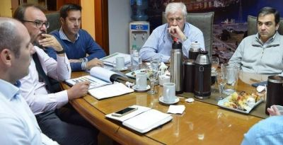 Reunión con autoridades portuarias de Nación y Provincia
